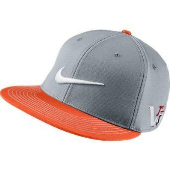 baebc992 Nike Golf Flat Bill Hat orange /grey | Sports | Nike flats, Nike ...