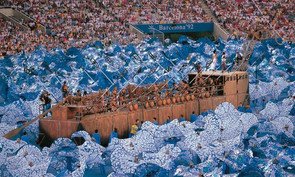 Mediterrani Mar Olímpic Openning Olympic Games Barcelona 1992 Creation And Direction àlex Ollé Carlos Padrissa La Fura Dels Baus Ceremony Director Man Mar