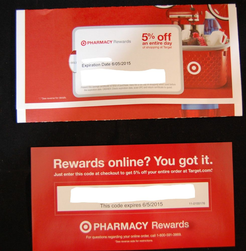 target 5 off pharmacy coupon
