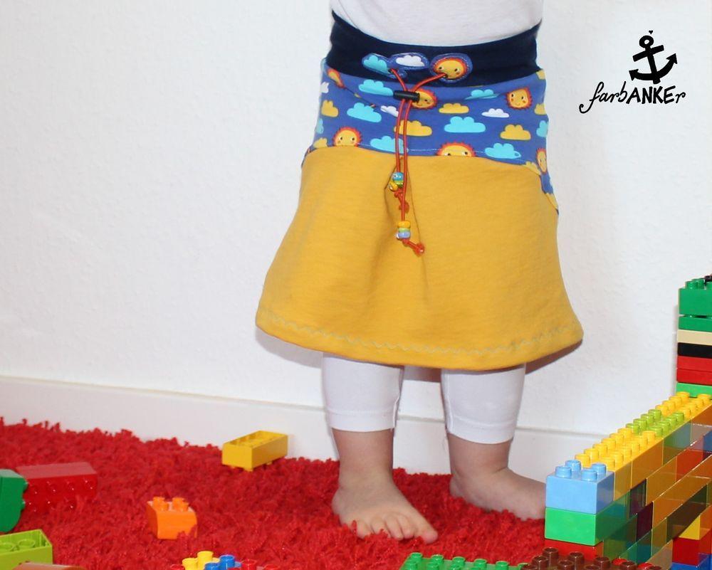 Foto zu Schnittmuster Paula von Nima | Schnittmuster für Kinderröcke ...