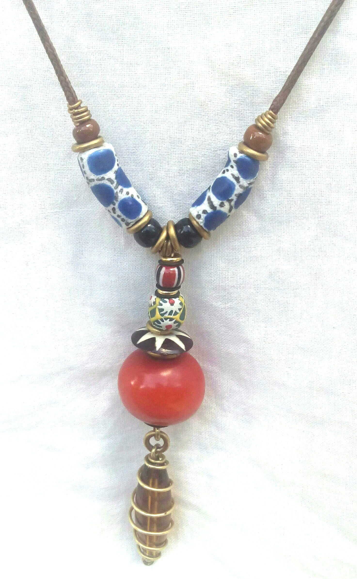 it american grandmothers great from native is friends necklace s grandmother red friend ii trade bead where