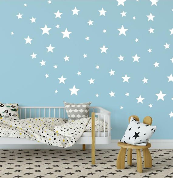 Star Wall Decals Stickers Kids Decoration Nursery Vinyl