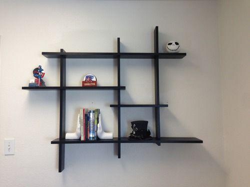 Pin On Wall Display Shelf