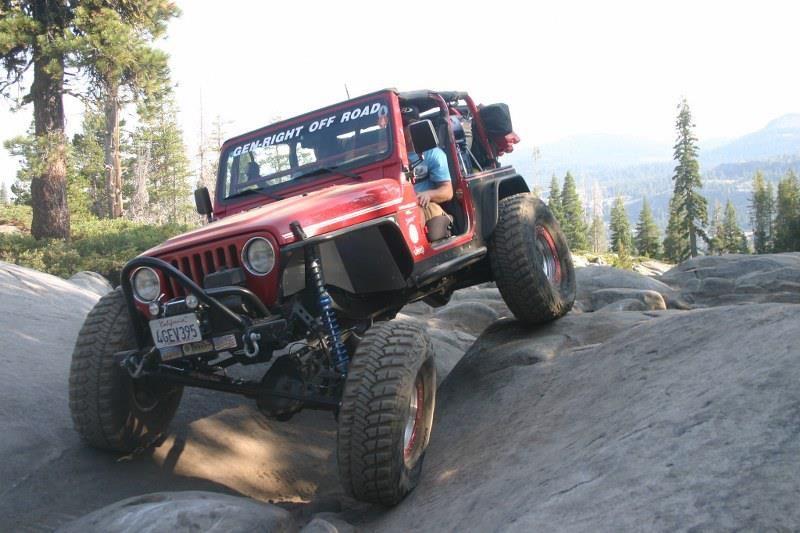 Jeep Tj On The Rubicon B Jeep Tj Jeep Jamboree