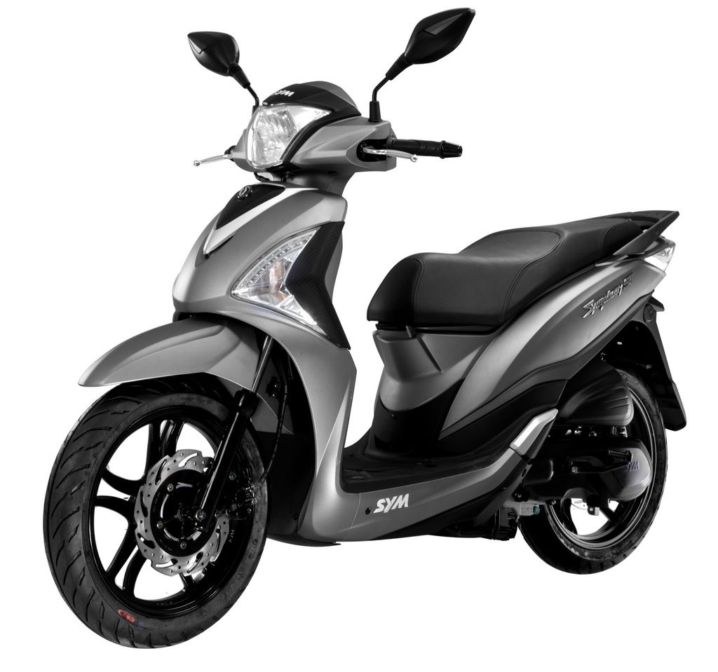 Scooter Specifications : Sym, 200cc, automatic, 2 seats
