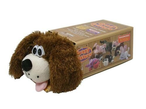 Brown Dog Crazy Critters Laughing Rolling Dog By Flipo 23 99