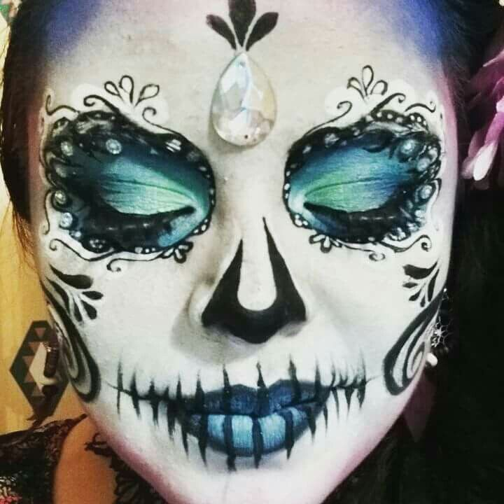 Pin by Jerrycharlotte on Halloween make-up Pinterest Halloween - face painting halloween makeup ideas