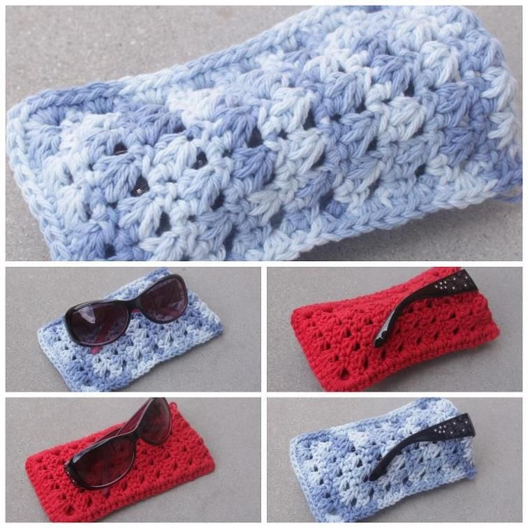 Triangle Sunglasses Pouch | Craftsy | 15 min coffee sleeve | Pinterest