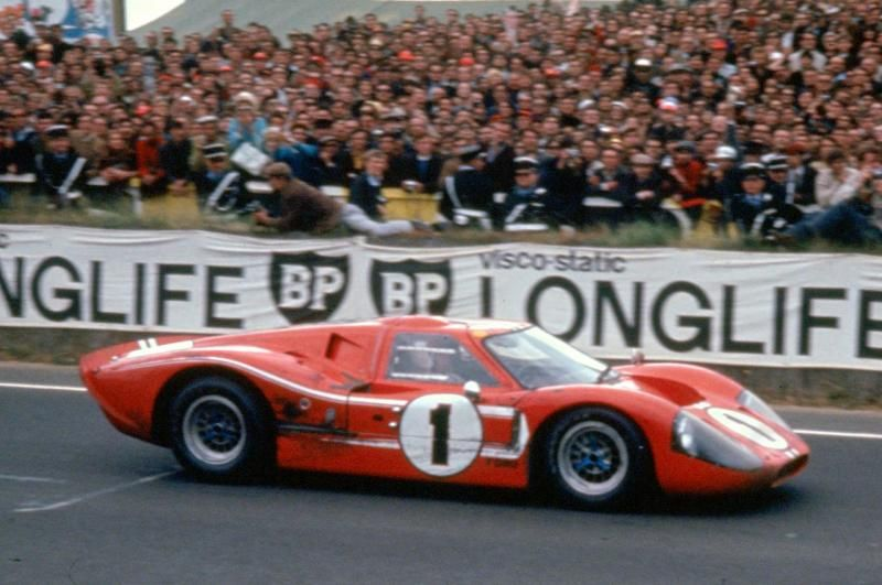 Lemans 1967 Shelby American Ford Mark Iv Of Dan Gurney And Aj