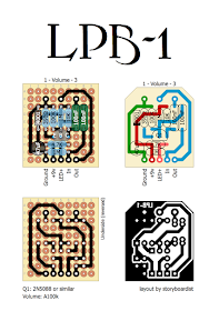 Perf and PCB Effects Layouts: Electro Harmonix LPB-1 | boost in 2019 Lpb Schematic on