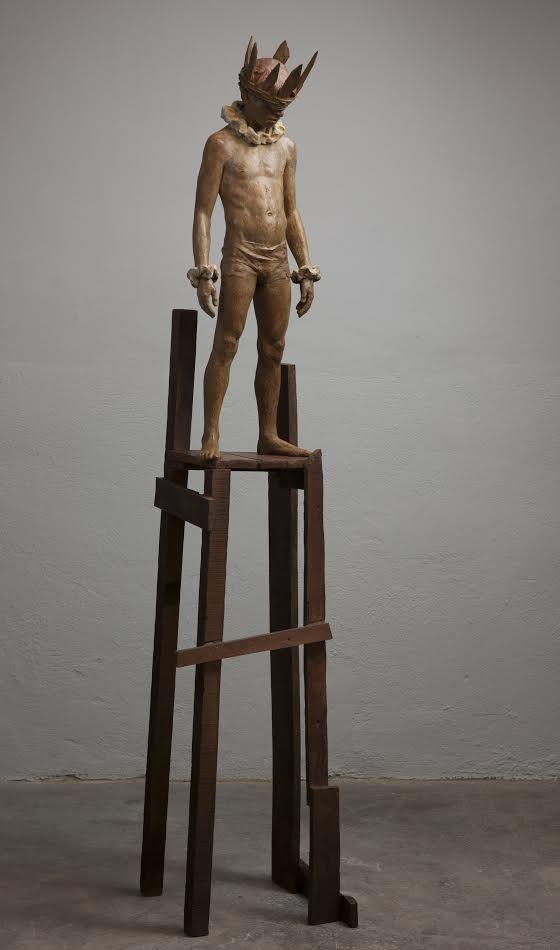 CODERCH & MALAVIA, Hamlet, 203 x 42 37 cm (socle compris), bronze