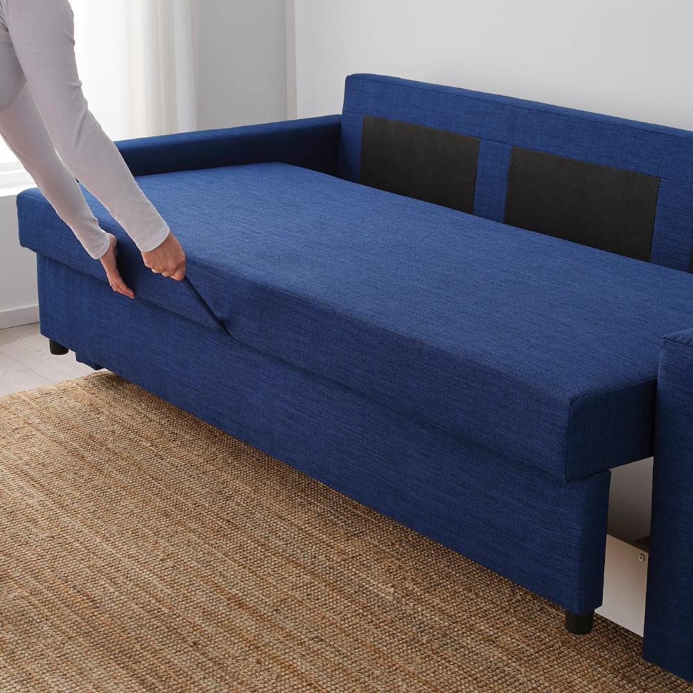 Friheten Sleeper Sofa Skiftebo Blue Sleeper Sofa Comfortable