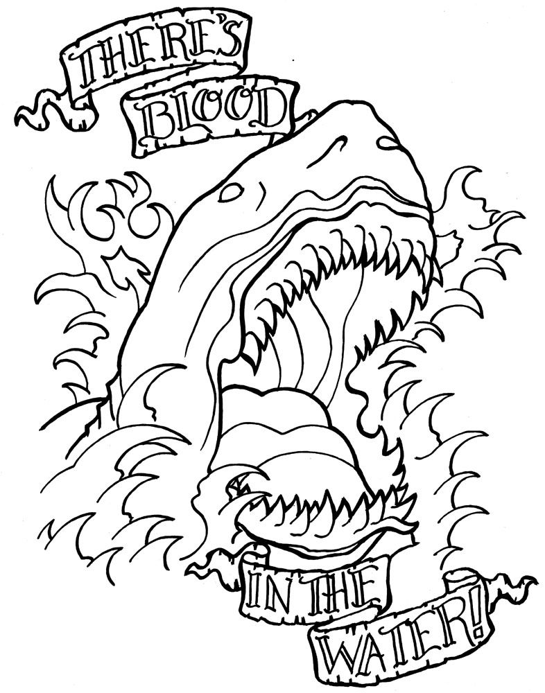 Design for my kickstarter Tattoo Design Coloring Book Project ...