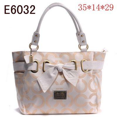 Us1423 Coach Handbags Outlet E6032 Ivories 1423 A Favourite