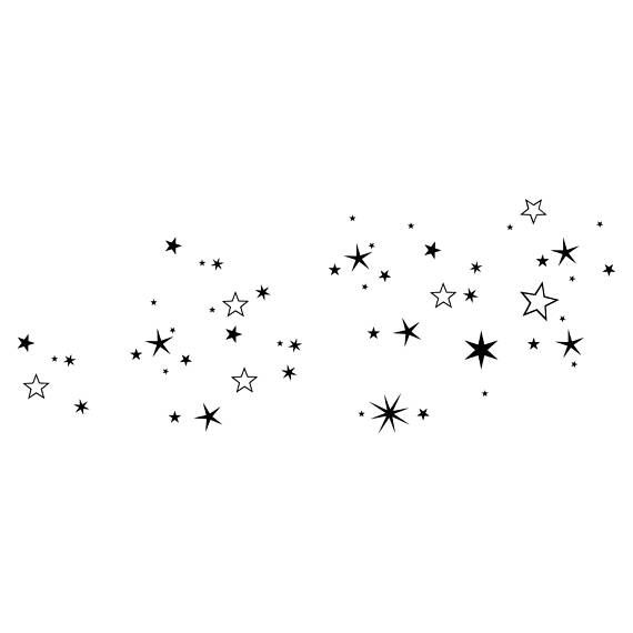 Star Sky Graphics Svg Dxf Eps Png Cdr Ai Pdf Vector Art Star Tattoo Designs Star Tattoos Body Art Tattoos