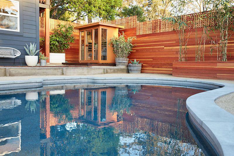Clearlight Sauna in 2020 Backyard, Sauna house, Outdoor