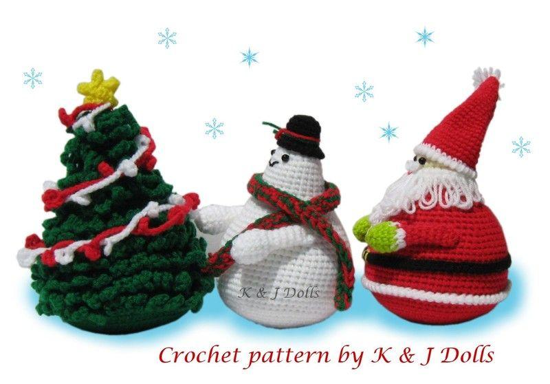 Amigurumi Patterns For Sale : Sale christmas amigurumi patterns crochet amigurumi