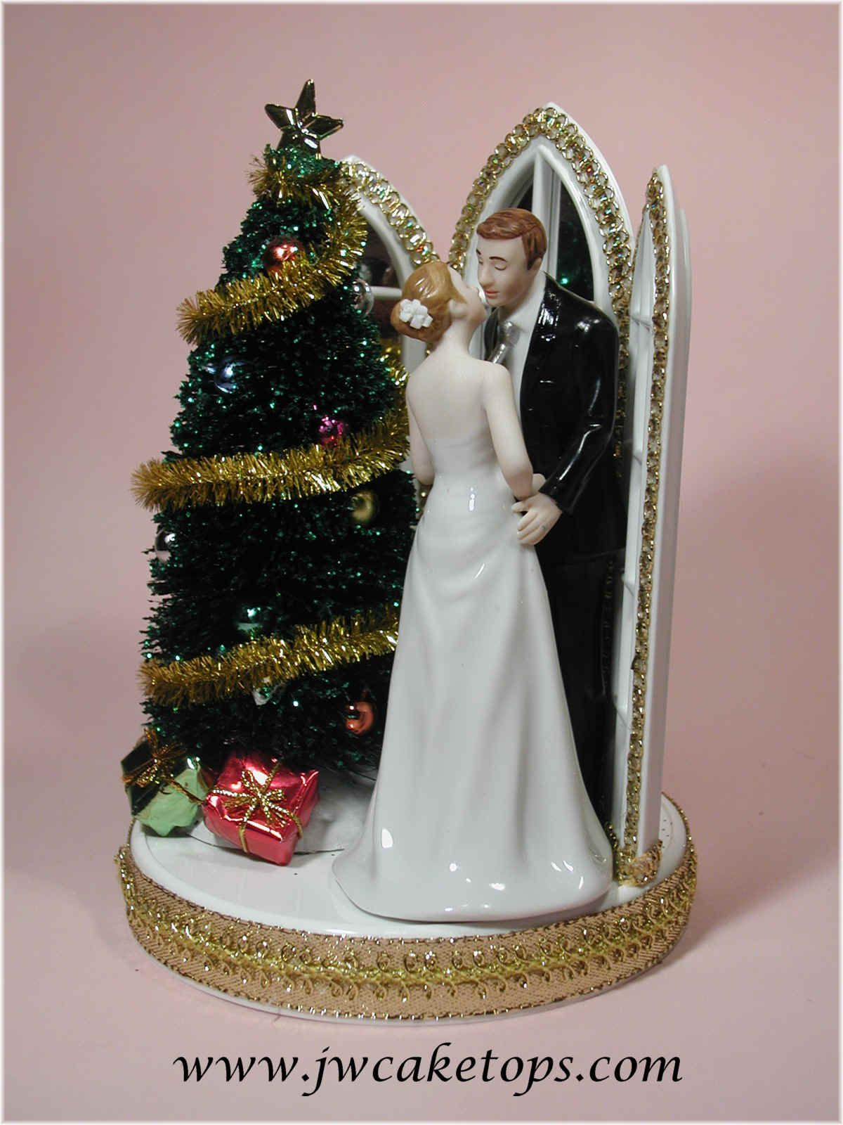 Christmas Wedding Cake Toppers.Pin On Wedding Cake Toppers