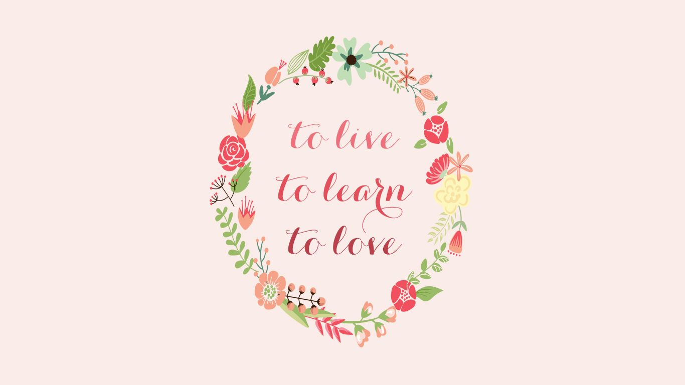 Inspirational Quotes Background Pink & Floral Inspiration Quote Free Wallpaper Background from  Inspirational Quotes Background