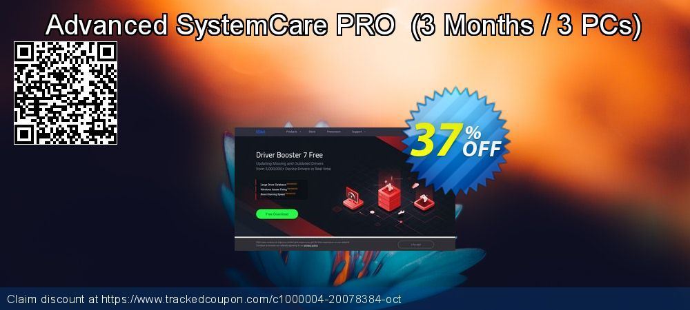 37 Off Advanced Systemcare Pro 3 Months 3 Pcs Promo Coupon