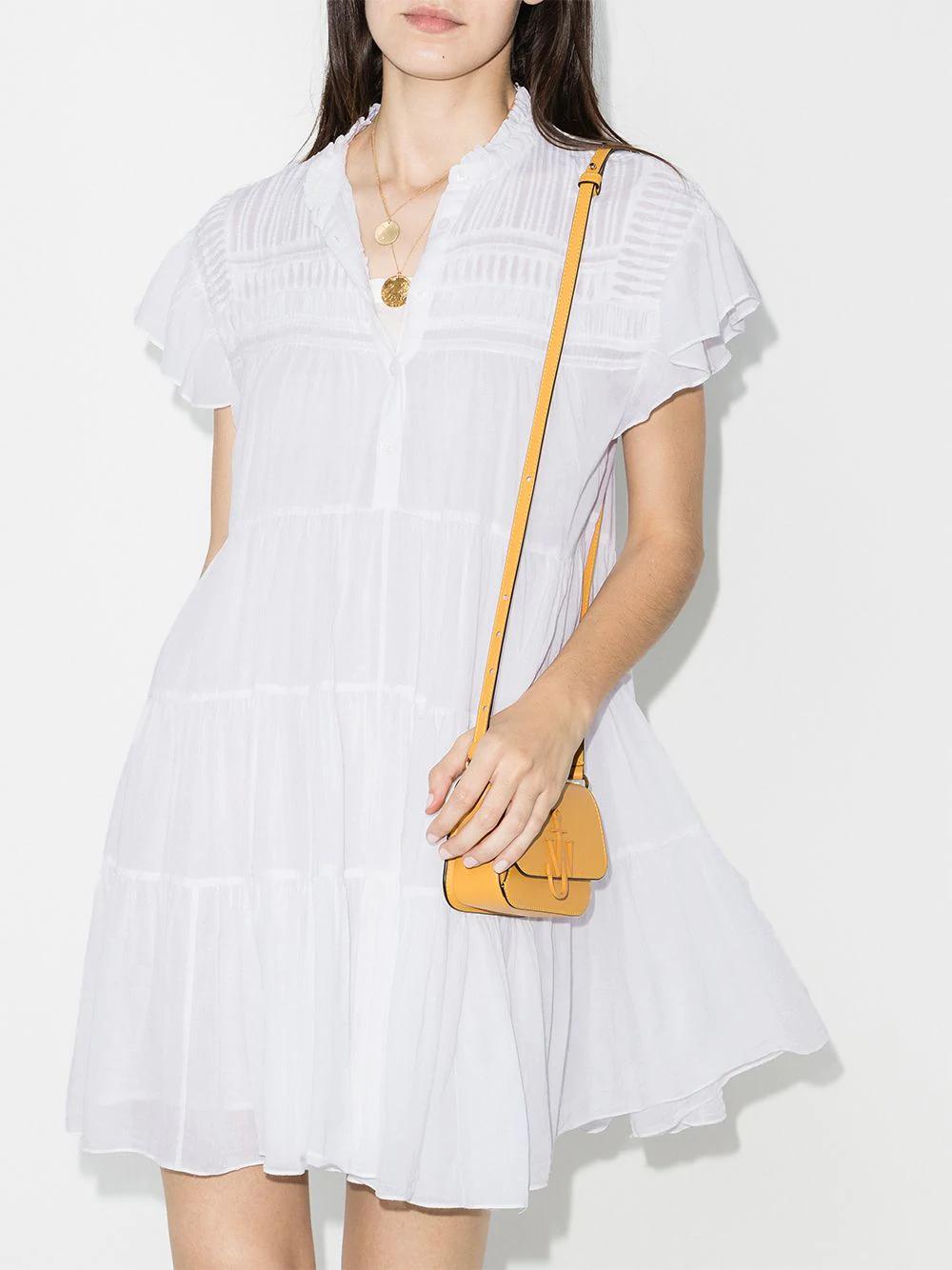 Isabel Marant Etoile Lanikaye Tiered Mini Dress Farfetch Dresses Mini Dress Isabel Marant Etoile [ 1334 x 1000 Pixel ]