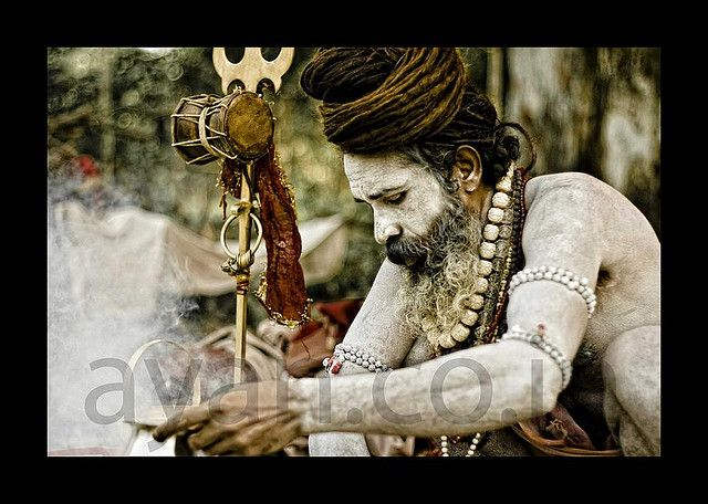 Aghori  © Ayan Khasnabis All Rights Reserved