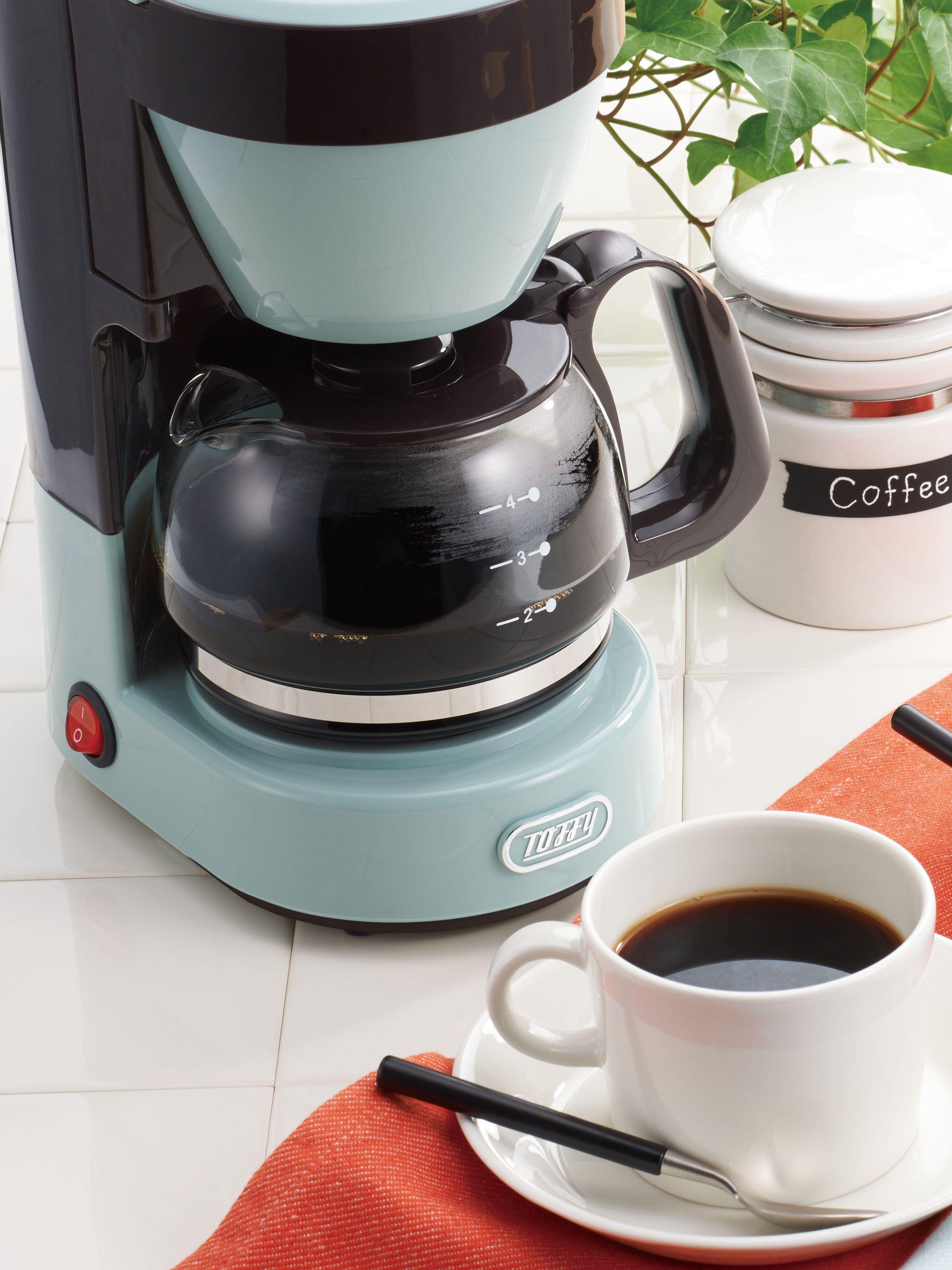 ラドンナ Toffy トフィ 4カップコーヒーメーカー 650ml キッチン家電 コーヒーメーカー 2020 コーヒーメーカー コーヒー ラドンナ