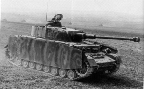 Panzer IV 2nd Panzer-division, France Spring 1944. - BFD