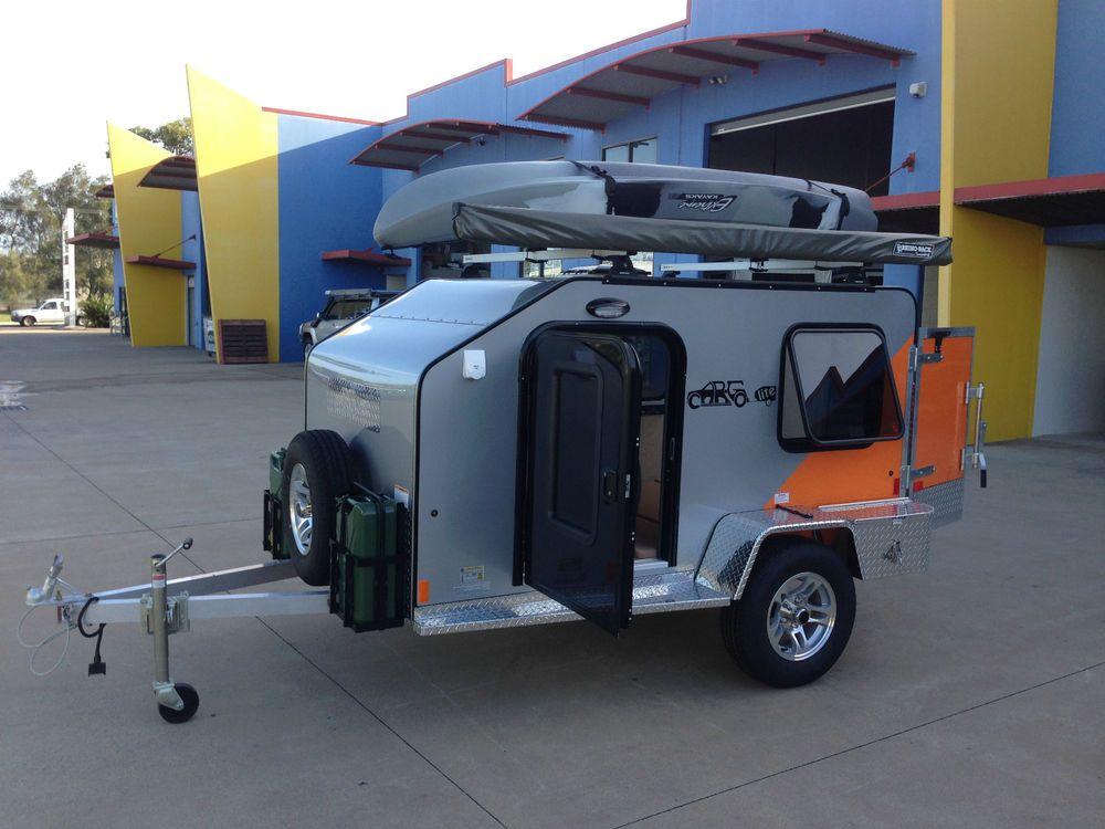 Brand new Cargolite aluminium camper trailer Tow with small car