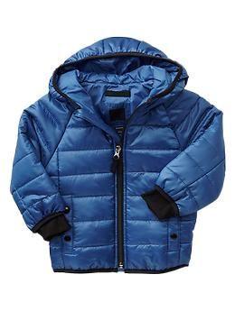 Primaloft 174 Raglan Puffer Jacket Lightweight And Water