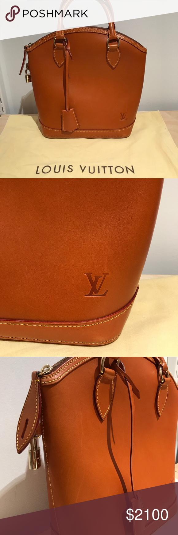 Authentic Louis Vuitton Nomade Lockit In Caramel This is an authentic  perfect condition LOUIS VUITTON Nomade 0781f36392f3e
