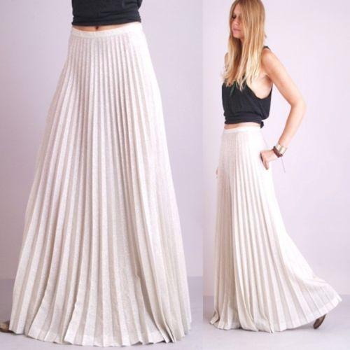 b47d94962d long pleated skirt.   FASHIONobsession   Dresses, Skirts, Fashion