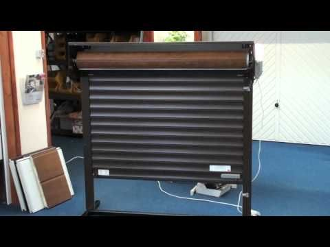 Garage Doors Garador R1 Roll A Door Installation Part 2 Youtube