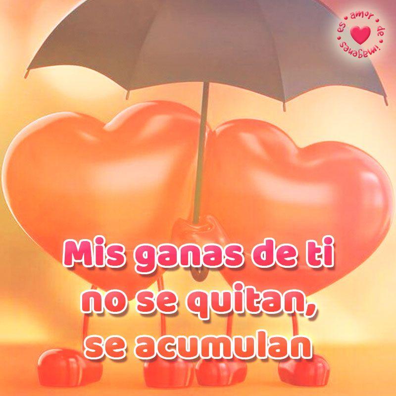 Imagen De Corazones Con Frase De Amor Frases Pinterest Amor