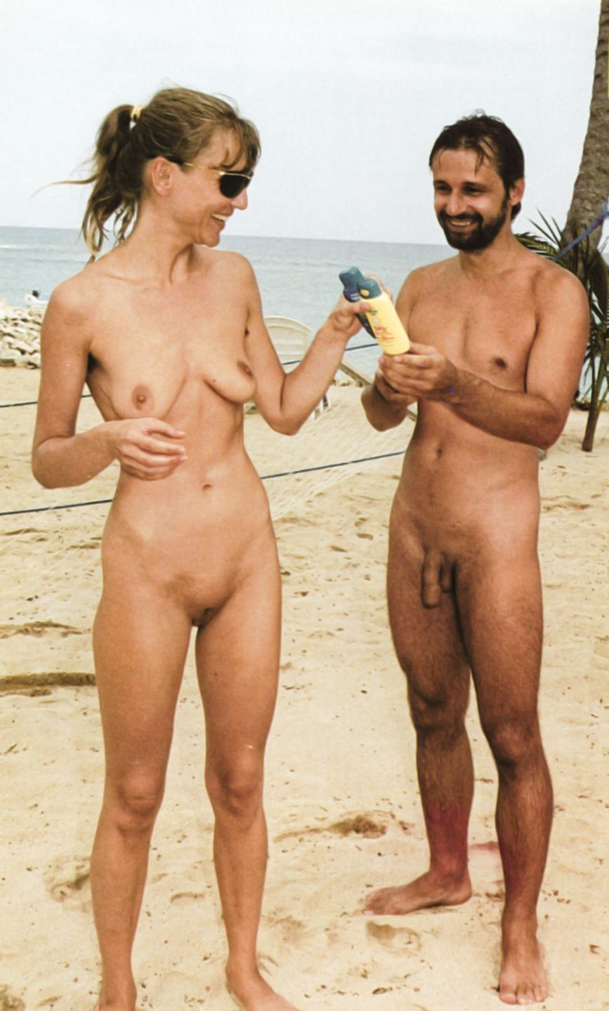 Naked guy and woman
