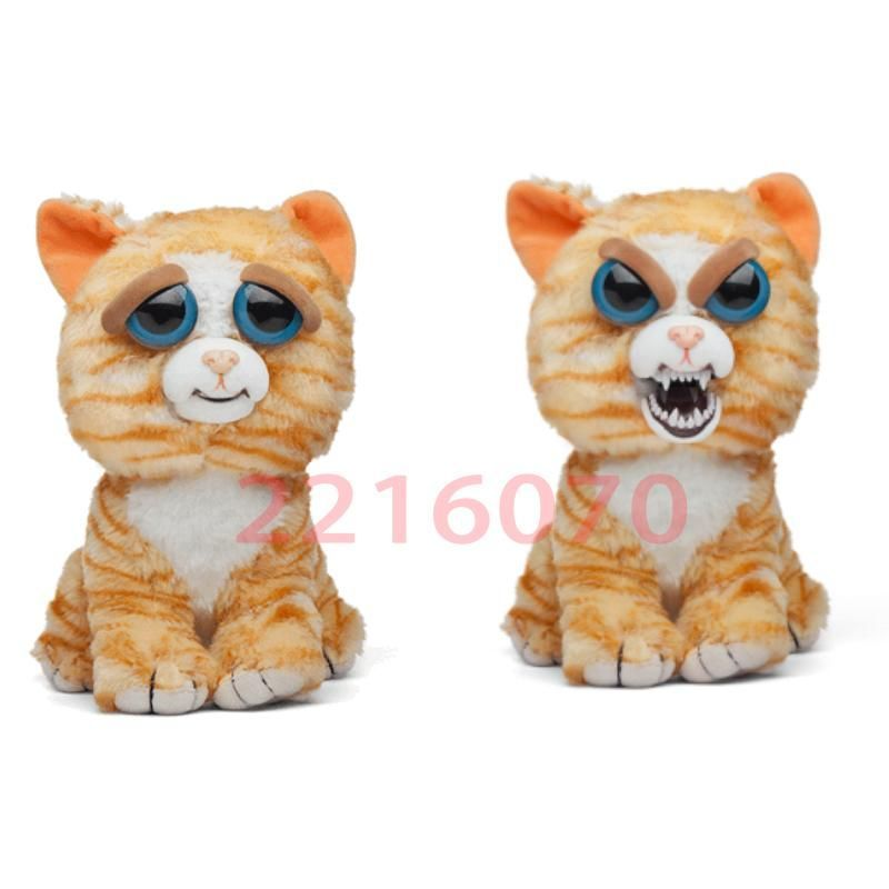 Christmas Gift Feisty Pets Unicorn Change Face Funny Expression Plush Toy For Kids Pet Toys William Mark Halloween Animal Dolls Feisty Pets Unicorn Animals For Kids Pet Toys