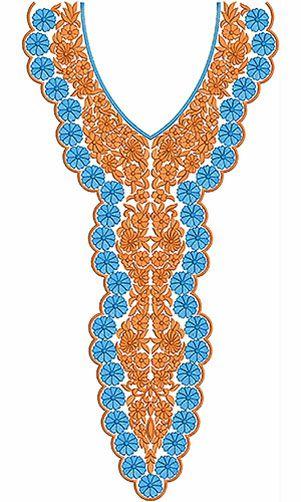 African Ladies Clothing Neck Design Needle Craft Pinterest