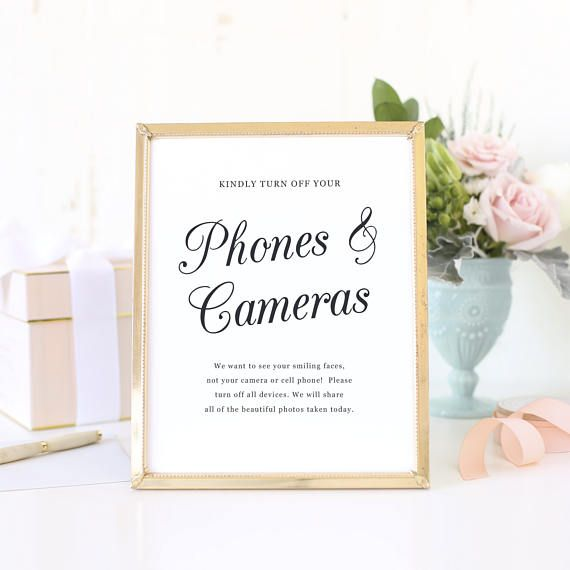 graphic relating to No Cellphone Sign Printable titled No Mobile Telephones Indicator, Transform off Telephones and Cameras, Marriage ceremony