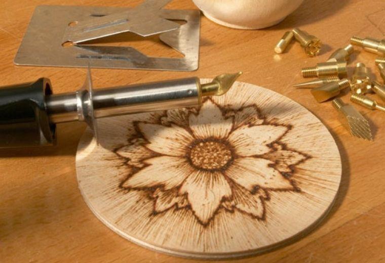 Manualidades de madera para principiantes