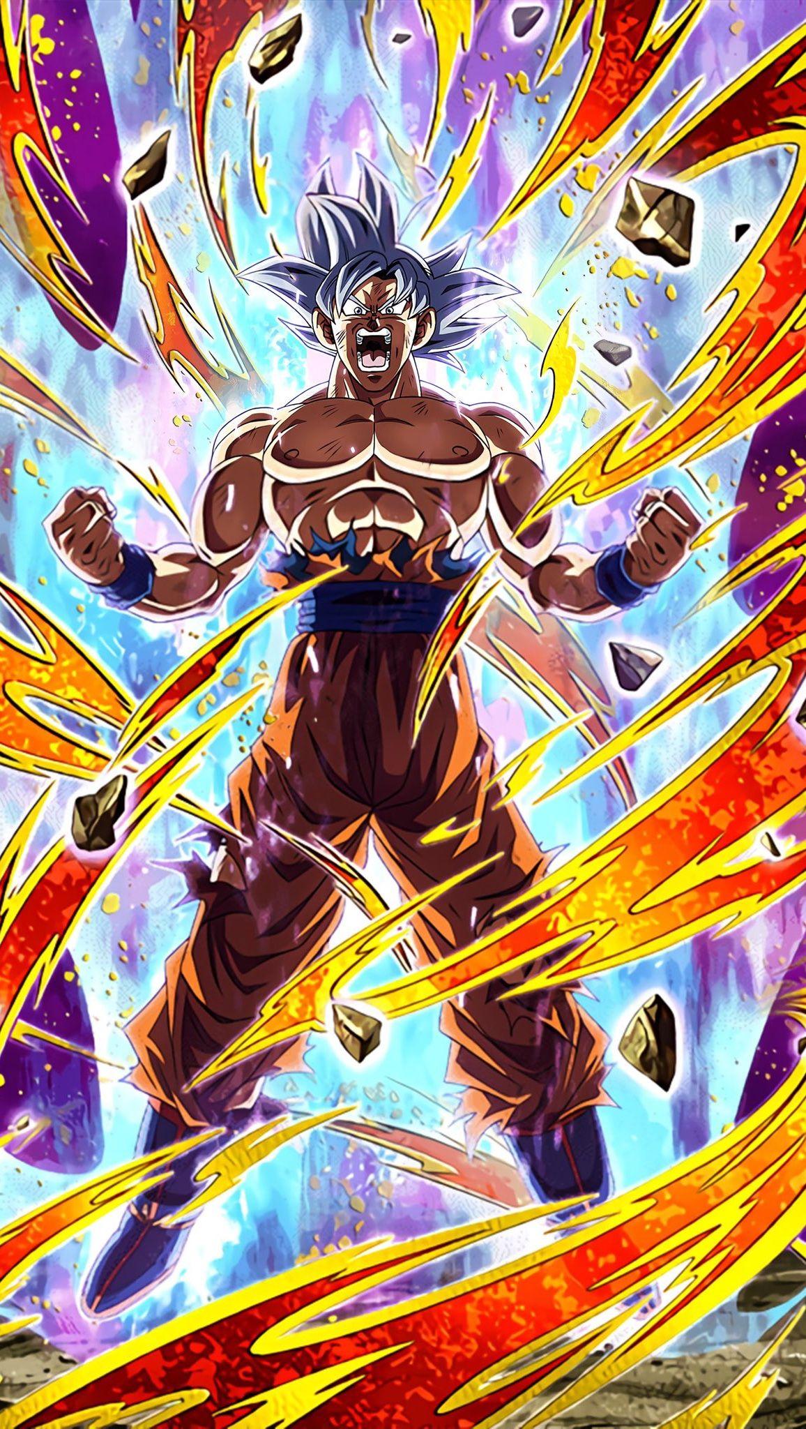 Mastered Ultra Instinct Goku Ur Art In 2021 Dragon Ball Super Artwork Dragon Ball Artwork Dragon Ball Wallpaper Iphone