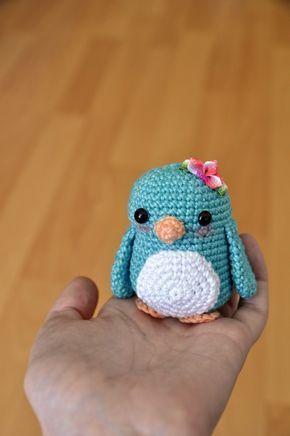 penguin - Free Crochet Pattern | Crochet | Pinterest | Patrones ...