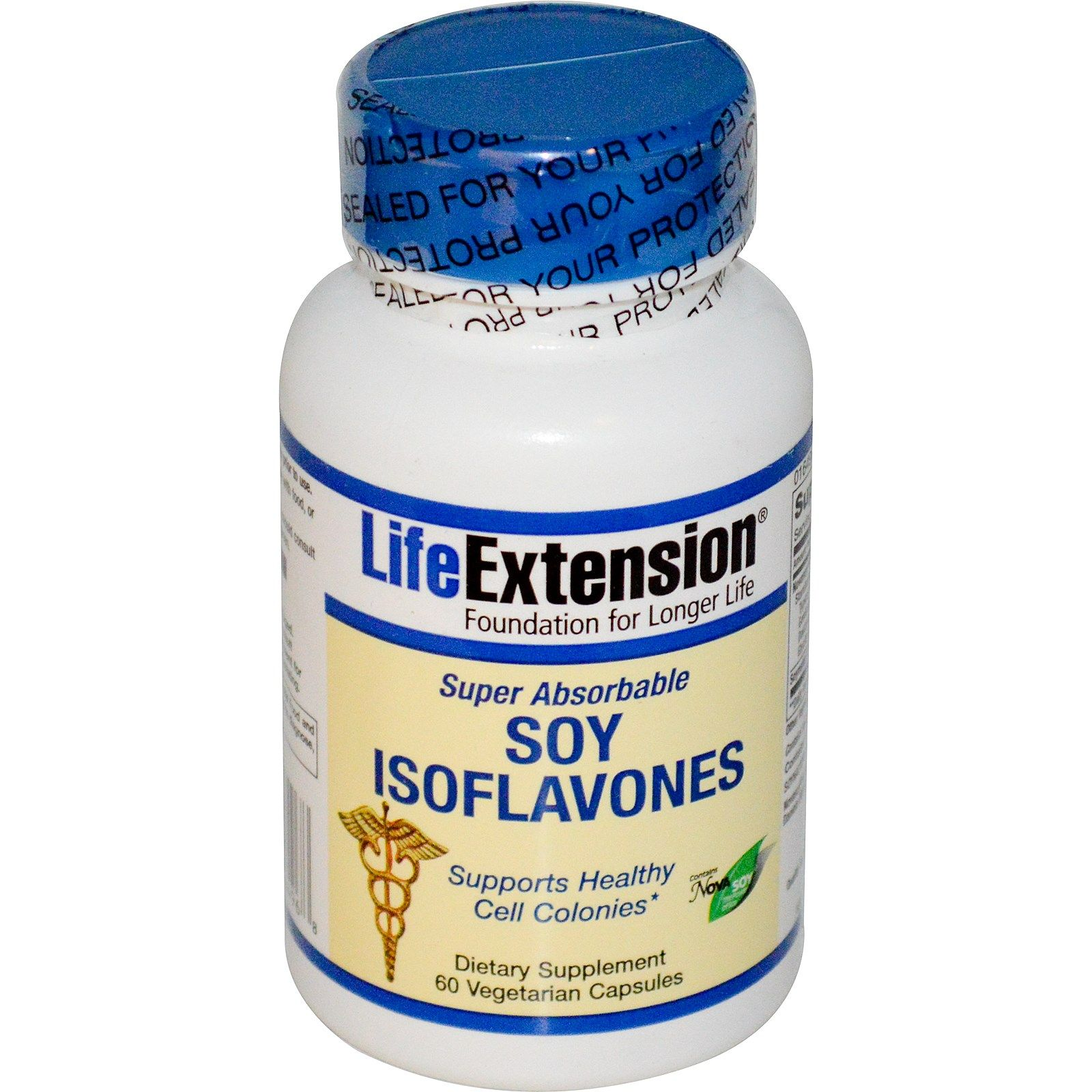Life Extension, Soy Isoflavones, Super Absorbable, 60