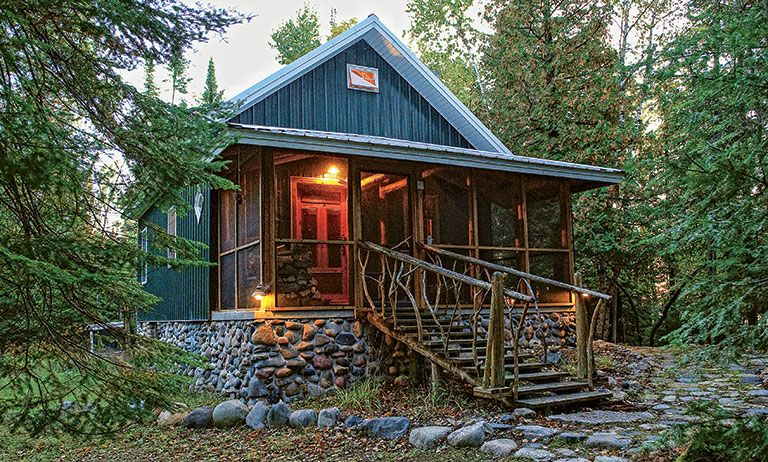 Explore This Timber Frame Dream Cabin In Michigan   Cabin Life