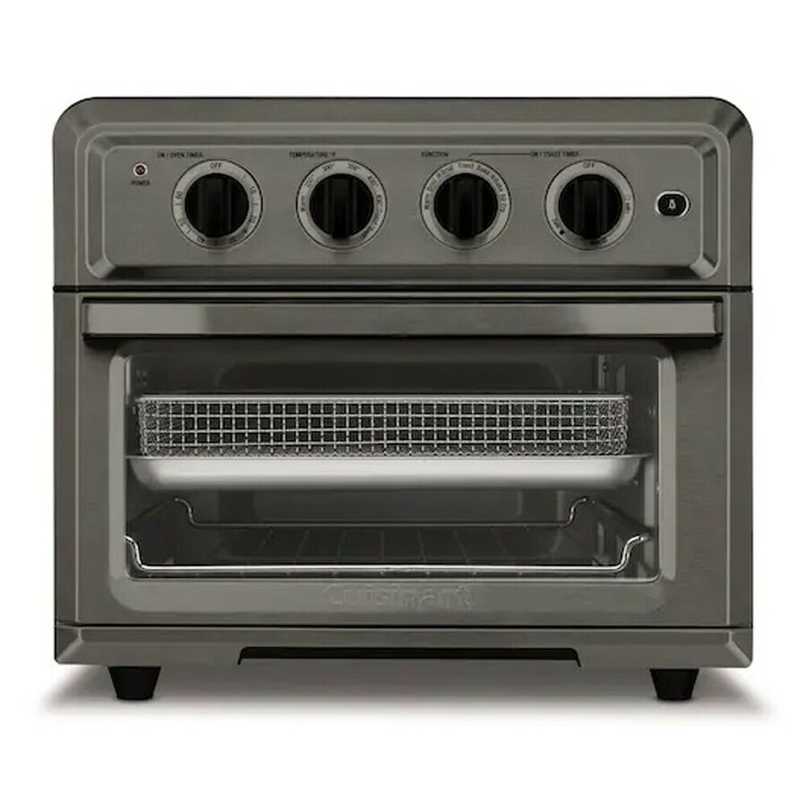 Details About Cuisinart Convection Toaster Oven Air Fryer W Light Black Knife Set And Cloth With Images Toaster Oven Toaster Convection Toaster Oven