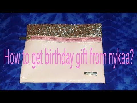 07b745587c6 Nykaa privé birthday gift + detail info - YouTube