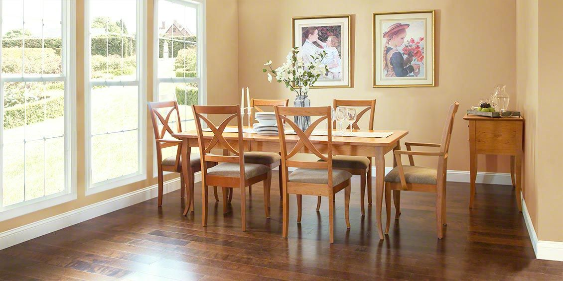 French Country Dining Table | American Made In Vermont | Extension | From  Vermont Woods Studios