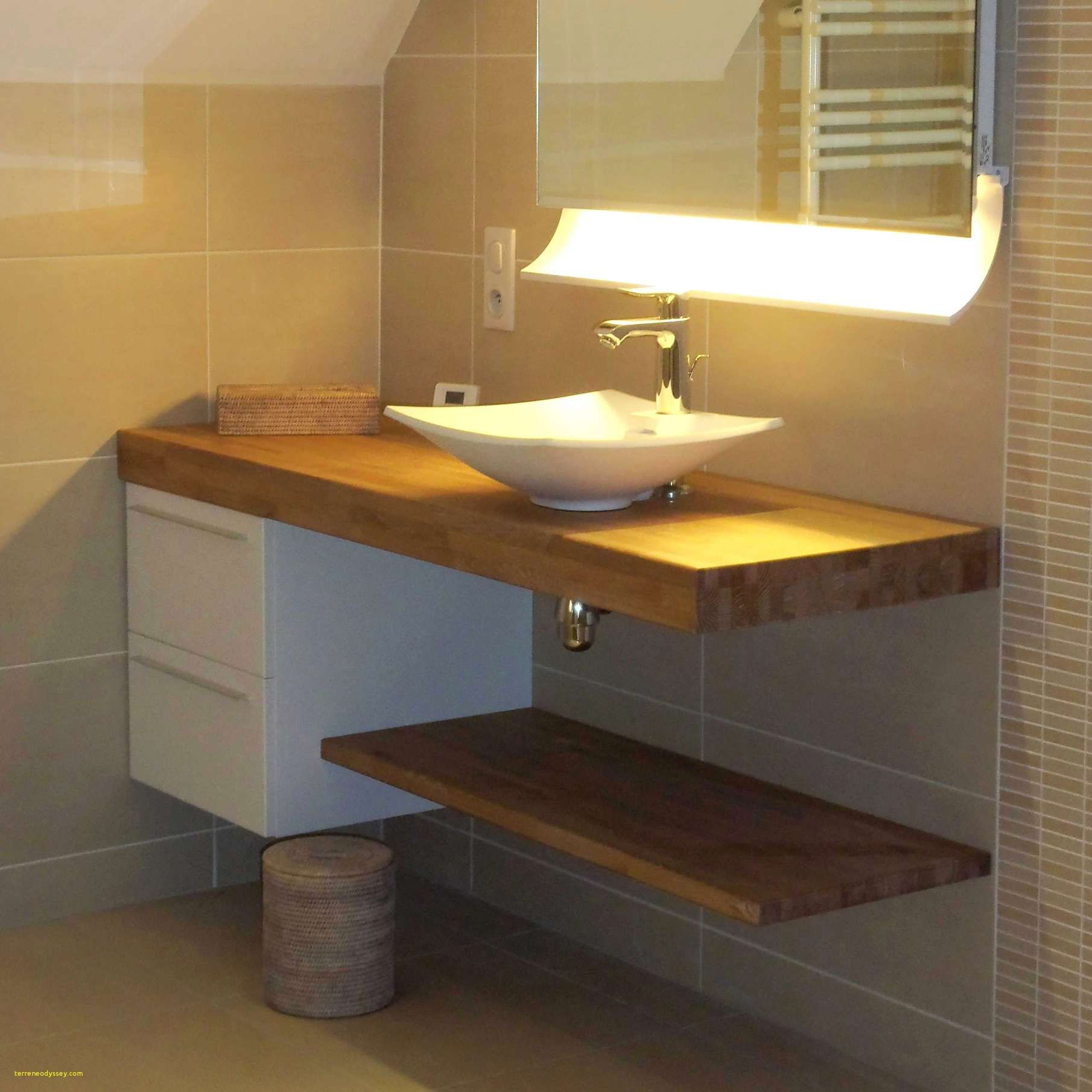 Fabriquer Meuble Salle De Bain Plan De Travail Lavabo Salle De Bain Fabriquer Meuble Vasque 15 Fabriquer Meuble Salle De Bain En 2020 Amenagement Salle De Bain Travaux Salle De