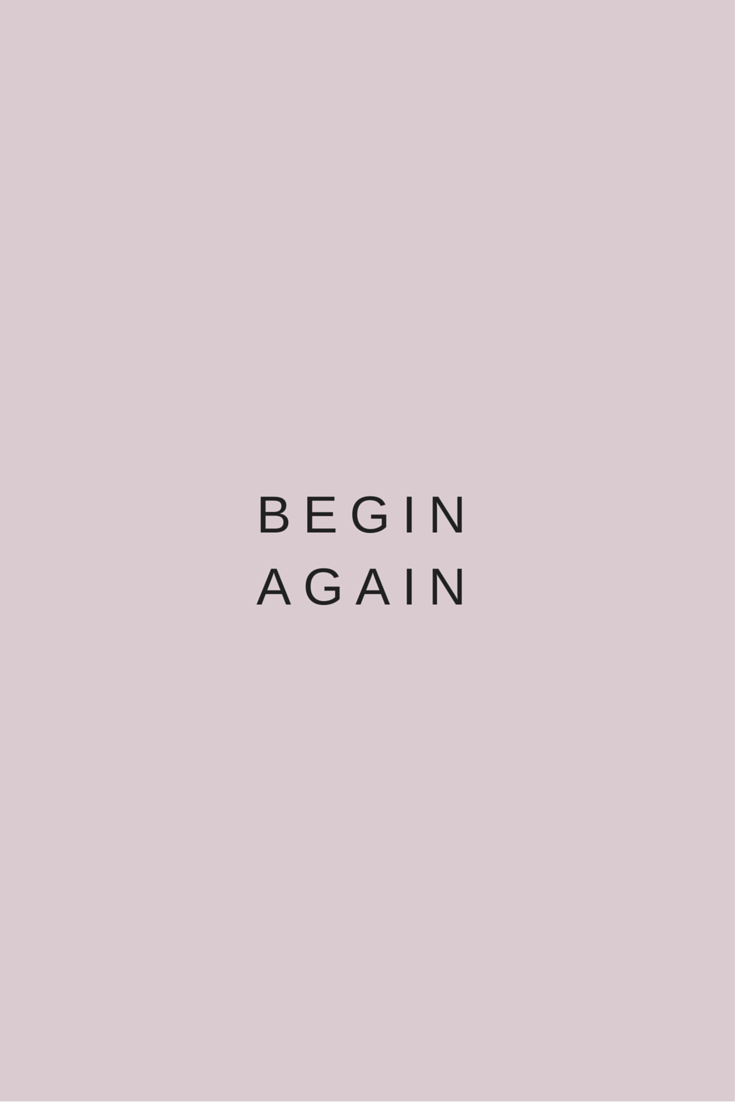 You get the opportunity to begin your life again each morning. Nothing that happened yesterday will define you if you don't want it to. Good morning universe. I surrender to your grace x