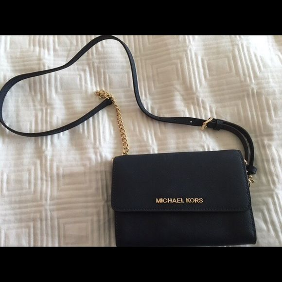Michael Kors Authentic Black Crossbody Bag Michael Kors Authentic Black Crossbody Bag **All Proceeds go to the Haiti Orphanage Project** Michael Kors Bags Crossbody Bags
