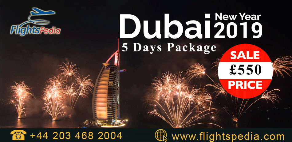 Book Your New Year 2019 Dubai Package From United